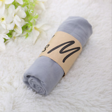 Fashion Gray color Style Ladies Womens Scarves Cotton Scarf Wrap Shawlss