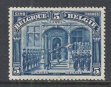 Belgium stamps 1915 OBP 147  5 Franken  MLH  VF