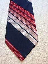 Vintage Wembley Mens Tie 4 X 57 Red, White And Blue