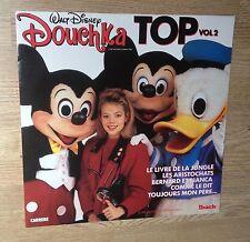 LP TV jeunesse DOUCHKA Top vol. 2 Walt Disney 1988 état NEUF