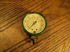 "Vintage US Gauge 2"" Dial Use No Oil GAUGE 0 to 4000 & 330 Cubic Feet at 70F"