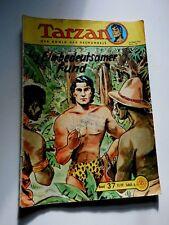 Tarzan Der König des Dschungels Nr.37 Original Ausgabe 1959-1961 schwarzweiß