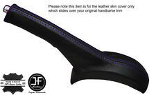 PURPLE STITCHING LEATHER HANDBRAKE GAITER FITS SUZUKI ALTO 2009-2016