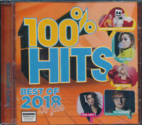 100% Hits Best Of 2018 So Far CD NEW with lyrics Ed Sheeran Macklemore Kyle