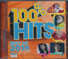 100 Hits Best of 2018 so Far Feat. Ed Sheeran Anne-marie Dua Lipa CD