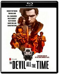 THE DEVIL ALL the TIME BLU-RAY 2020 / TOM HOLLAND / Region Free