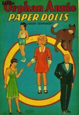 Vintage Uncut 1943 Little Orphan Annie Paper Dolls~8 Pgs Clothes-#1 Reproduction
