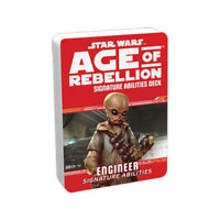 STAR WARS AGE OF REBELLION ENGINEER SIGNATURE ABILITIES DECK - BRAND NEW