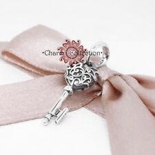Pandora, S925 Regal Vintage Key Pendant Dangle Bracelet Charm, NEW, 397725