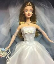 Nrfb Barbie Doll Millennium Wedding 1st Bridal Collection 1999 #27674 Collector