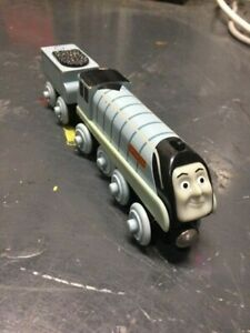 Thomas The Train Wooden Railway SPENCER WITH TENDER. TOMY UK.