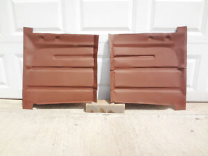 1955 1956 Ford Mercury REAR FLOOR PAN Sections USA Floorboard 18g LEFT RIGHT