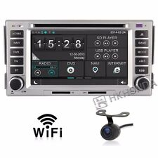 Car DVD GPS Player 3G Navi Radio RDS For Hyundai santa fe elantra Free camera