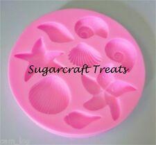 Conchiglie Di Mare Stella Marina Stampo Silicone Pasta Di Zucchero Cupcake