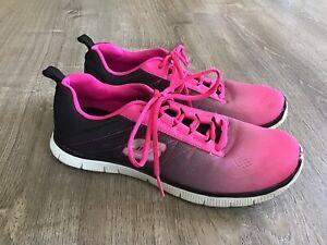 Skechers Women's Flex Appeal Rival 11882 Hot Pink Black / Women's - Size 9.5