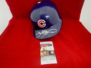 Sammy Sosa Signed Autograph Full Size Chicago Cubs Batting Helmet - JSA NN75637