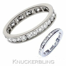 Natural Wedding Eternity VS1 Fine Diamond Rings