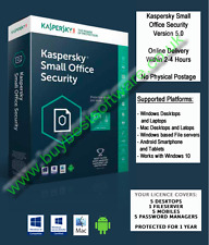 Kaspersky Small Office Security 1 File Server/5 PC/5 Mob.Dev.(Online Delivery)