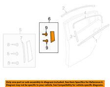 MAZDA OEM 14-15 6 Exterior-Rear-Applique Window Trim Left GJR950M60A