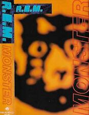 R.E.M.  Monster CASSETTE ALBUM Alternative Rock