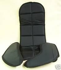 New Child's TMC 3 Piece Go Kart Racing Seat Pad Set