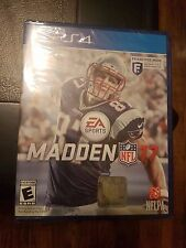 NEW Madden 17 (Playstation 4 PS4, 2016) FACTORY SEALED VERY FAST SHIP