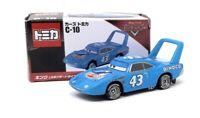 Tomica DieCast Modellauto Nr. C10 Disney Pixar Cars The King blau Takara Tomy