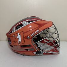New listing Cascade CPX-R Lacrosse Helmet Orange Adult Adjustable One-Size-Fits-Most