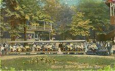 1910 Miniature Railroad, Silver Lake, Akron, Ohio Postcard - As Is