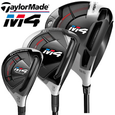 TAYLORMADE M4 MULTIBUY 9.5 DEGREE DRIVER, 3 WOOD & #3 RESCUE / STIFF FLEX
