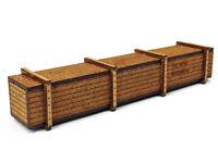 MU N-F00008 - Ladegut Transportkiste groß, Bausatz - Spur N - NEU