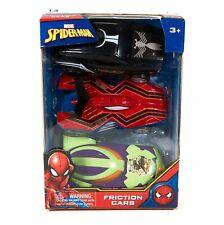 Marvel Spiderman Friction Cars - Spiderman Symbiote Spiderman Green Goblin