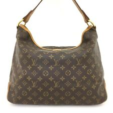 100% Authentic Louis Vuitton Monogram Delightful MM Shoulder Tote Bag /