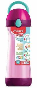 Maped PICNIK Trinkflasche CONCEPT pink 0,58 l Kinder Schule Pause Wasserflasche