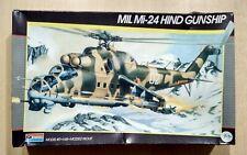 49-5819 MONOGRAM 1/48th Scale MiL Mi-24 HIND GUNSHIP Plastic Model Kit