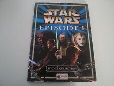 Star Wars COMPLETED HEBREW  STICKER ALBUM  ISRAELi   ISRAEL ONLY 1999