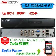 Hikvision 8CH 1080P Hybrid DVR 5in1 XVR TVI AHD CVI IPC input DS-7208HGHI-F1 OEM