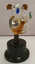Rare Miniature Glass Koala Liqueur Bottle Baitz Australia on Bakelite Stand 13cm