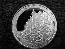 10 - 2012 S ACADIA  QUARTERS FROM PROOF SETS - LOT