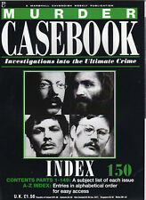 Murder Casebook #150 Index to the complete series