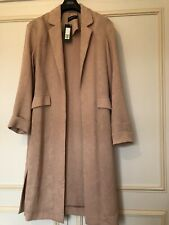M&S Limited Edition Copper Rose Long Jacket Size 12