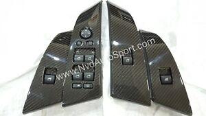 BMW E60, E60 M5 Carbon fiber Door Window Switch Panels ( Pre Lci)