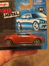 ❤️🧡💙💚💛Maisto Fresh Metal FORD STREET KA 1:64 Diecast Toy Vehicle NEW NIB