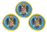 Manteau de Bras de Maria Theresia de Autriche Marqueurs de Balles de Golf