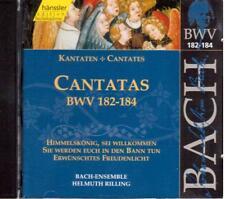 Bach: Edition Bachakademie Vol 55 Cantate BWV 182 -184 / Helmuth Rilling - CD