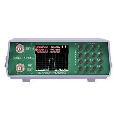 U/V UHF VHF dual band spectrum analyzer BNC + tracking source tuning Duplexer ES