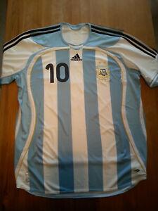 Adidas Trainingsjacke Gr.40 Messi Maradona Argentina orig