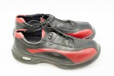 Ecco PGA Pro Golf Shoes Club Ladies Cleats Red Easy GTX Gore Tex Waterproof GC12