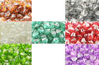 10pcs Squaredelle Clear Rhinestone Spacers 6x6mm 45564-121