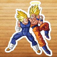 Dragon Ball Z Super Saiyan Goku vs Frieza Vinyl Window Sticker Decal CUSTOM